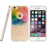 Insten TPU Water Color Imd TPU Rubber Skin Gel Shell Case For Apple iPhone 6 / 6s - Love Wins