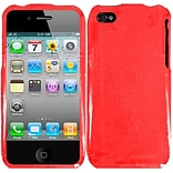 Insten Gel Cover Case For Apple iPhone 4S - Red