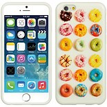 Insten TPU Imd Ultra Thin Skin Rubber Gel Case For Apple iPhone 6 / 6s - Donuts