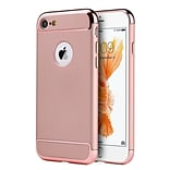 Insten 3 Pieces Hard Rubber Case For Apple iPhone 7 - Rose Gold