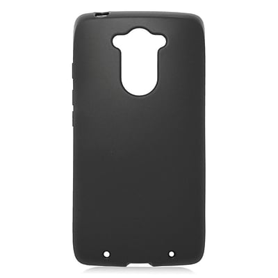 Insten TPU Rubber Cover Case For Motorola Droid Turbo - Black