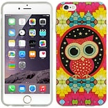 Insten TPU Imd Ultra Thin Skin Rubber Gel Case For Apple iPhone 6s Plus / 6 Plus - Colorful Owl