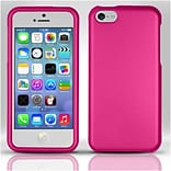Insten For iPhone 5c Rubberized Case - Rose Pink