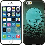 Insten TPU Imd Ultra Thin Skin Rubber Gel Case For Apple iPhone 6 / 6s - Halloween Bat