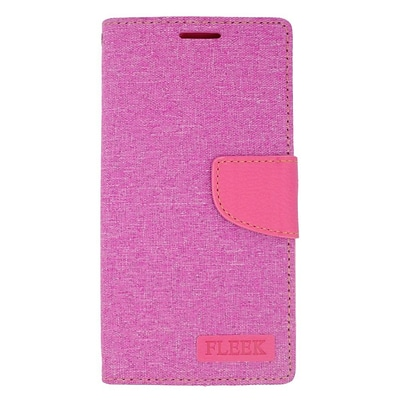 Insten Leather Wallet Case with Photo Display & Card Slot For Samsung Galaxy S6 Edge Plus - Pink