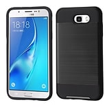 Insten Brushed Hybrid Dual Layer Hard TPU Protective Case For Samsung Galaxy J7 (2017) / Sky Pro - B