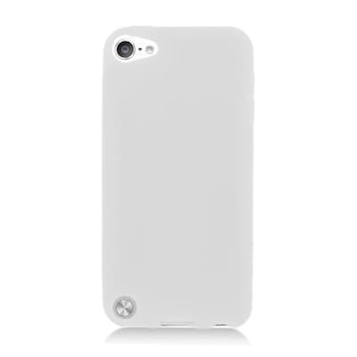 Insten Skin Rubber Case For Apple iPod Touch 5th Gen - White
