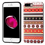 Insten Totem Hard Hybrid TPU Case For Apple iPhone 7 Plus/ 8 Plus, Orange/White
