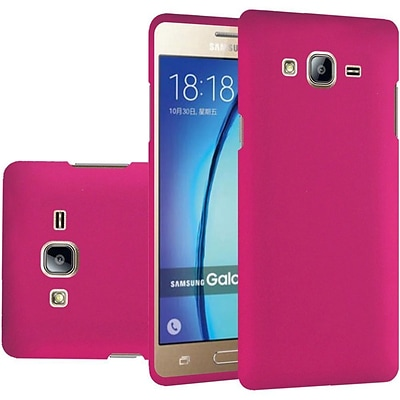 Insten Hard Rubber Case For Samsung Galaxy On5 - Hot Pink