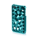 Insten Hard Plastic Cover Case For Apple iPhone 4 / 4S - Blue
