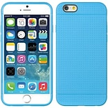 Insten TPU Dots Ultra Thin Skin Rubber Gel Shell Case For Apple iPhone 6 / 6s - Blue