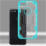 Insten Hard TPU Case For Apple iPhone 7 - Clear/Light Blue