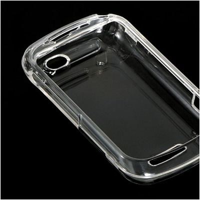 Insten Hard Crystal Skin Back Protective Shell Cover Case For Motorola Clutch Plue i475 - Clear