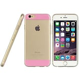 Insten Crystal TPU Twinkle Rubber Gel Shell Case For Apple iPhone 6 / 6s - Pink
