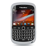 Insten Silicone Rubber Case For BlackBerry Bold 9900/9930 - Clear