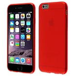 Insten New Red Circle Frosted TPU Cover Case For Apple iPhone 6 4.7 Inches