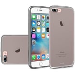 Insten Frosted Rubber Cover Case For Apple iPhone 7/ 8, Smoke