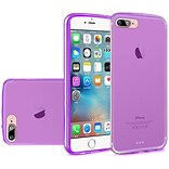 Insten Frosted Rubber Case For Apple iPhone 7, Purple
