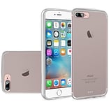 Insten Frosted Gel Cover Case For Apple iPhone 7 Plus/ 8 Plus, Clear