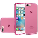 Insten Frosted TPU Cover Case For Apple iPhone 7/ 8, Hot Pink