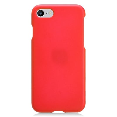 Insten Rubberized Hard Snap-in Case Cover for Apple iPhone 7/ 8, Red