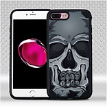 Insten Skull Hard TPU Case For Apple iPhone 7 Plus - Black