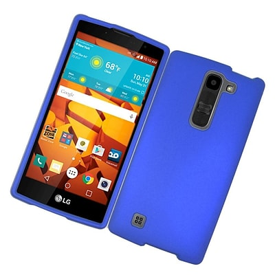 Insten Hard Rubber Cover Case For LG Volt 2 - Blue