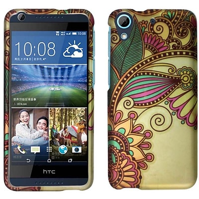 For HTC Desire 626 Rubberized Design Snap On Plastic Cover