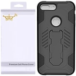 Insten SuperCoil Hybrid Premium Kickstand Cover with Holster Clip Combo Case For Apple iPhone 7 Plus