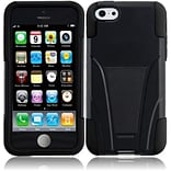 Insten For iPhone Lite Waterproof Cover holster Case with Stand - Black +Black11
