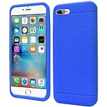 Insten Rugged Skin Rubber Cover Case For Apple iPhone 7/ 8, Blue