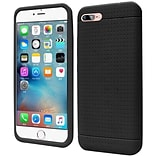 Insten Rugged Silicone Rubber Case For Apple iPhone 7/ 8, Black