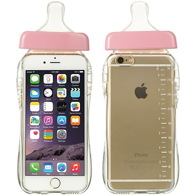 Insten TPU Case For Apple iPhone 6 / 6s - Clear/Pink