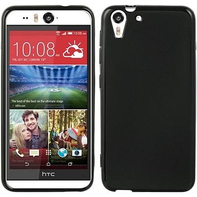 Insten Rubber Case For HTC Desire Eye - Black
