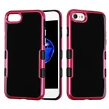 Insten Tuff Hard Dual Layer TPU Case For Apple iPhone 7 - Black/Red