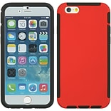Insten Full Protection Trim TPU Rubber Skin Gel Case For Apple iPhone 6 / 6s - Red