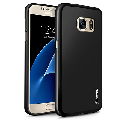Galaxy S7 Case, by Insten TPU Pudding Skin Rubber Gel Shell Case Cover for Samsung Galaxy S7 - Black