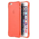 Insten Crystal Atom Lite Anti-Shock TPU Rubber Gel Case For Apple iPhone 6 / 6s - Red