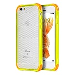 Insten Dual Color Shockproof Crystal TPU Rubber Gel Case For Apple iPhone 6 / 6s - Yellow