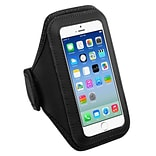 Insten Black Sports Running Jogging Gym Exercise Armband Case for iPhone 7 6 6S / Samsung Galaxy S6