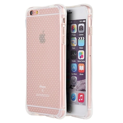 Insten Crystal Atom Lite Anti-Shock TPU Rubber Gel Case For Apple iPhone 6 / 6s - Clear