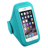 Insten Baby Blue Workout Gym Pouch Armband Phone Holder Case For iPhone 7 6 6S / Galaxy S7 Running G