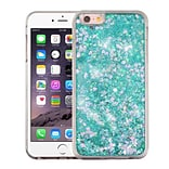 Insten Hearts Green Quicksand Glitter Hybrid Hard/TPU Protective Case Cover For Apple iPhone 6s Plus
