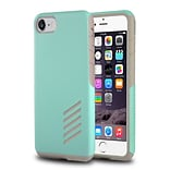 iPhone 7/ 8 Case, by Insten Light Gray Skin/Mint Green Hard Shockproof Anti-Scrathes Hybrid Case for