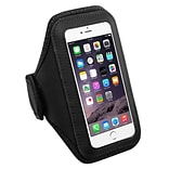 Insten Black Sports Running Jogging Gym Exercise Armband Case for iPhone 7 Plus 6S 6 / Galaxy Note 7