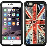 Insten UK Flag Hard Hybrid Rubber Silicone Cover Case for Apple iPhone 6s Plus / 6 Plus - Blue/Red