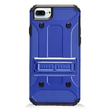 Insten Hard Hybrid Silicone Cover Stand Case For Apple iPhone 7 (4.7) - Blue/Black
