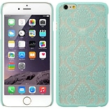 Insten Hard Case for Apple iPhone 6s Plus / 6 Plus - Teal/White