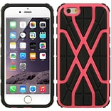 Insten Hard Hybrid Protective Case for Apple iPhone 6 / 6s - Hot Pink