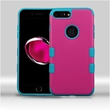 Insten Hard TPU Cover Case For Apple iPhone 7 Plus - Hot Pink/Teal